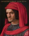 portrait of lorenzo de medici